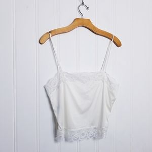 Christian Dior Eggshell Lace Camisole